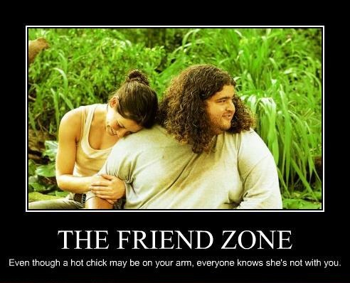 Dating someone in the friend zone