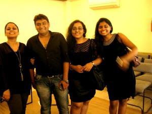 From Left: Sneha, Nirav, Me and Shrabani