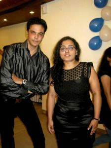 That's a very good nad old friend of mine. Sikander and me posing for the lenses.