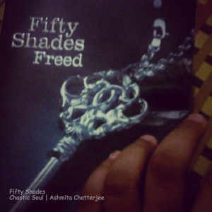 Nothing better than reading Fifty Shades before going to sleep...