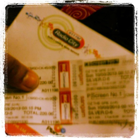 free movie tickets from RadioCity 91.1 (Mumbai) for the Movie: OZ the Great and Powerful