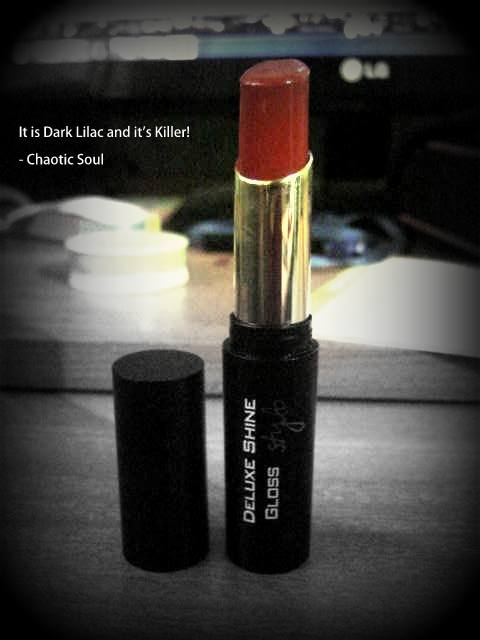Flormar Deluxe Shine Gloss Lipstick