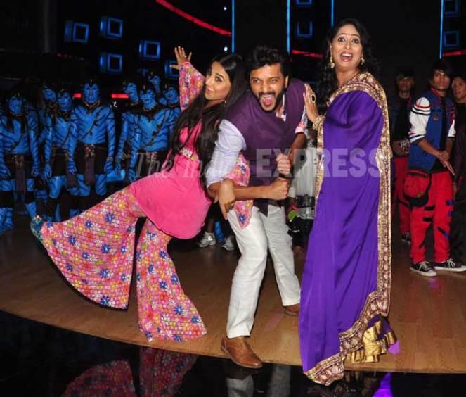 My two favs - Vidya Balan and Geeta Kapoor